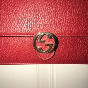 Gucci chain wallet / satchel
